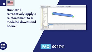 FAQ 004741 | How can I retroactively apply a reinforcement to a modeled downstand beam?