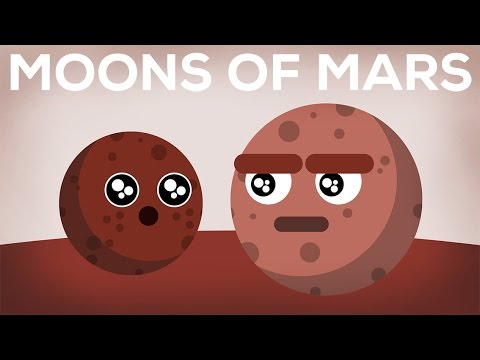 The Moons of Mars Explained -- Phobos & Deimos
