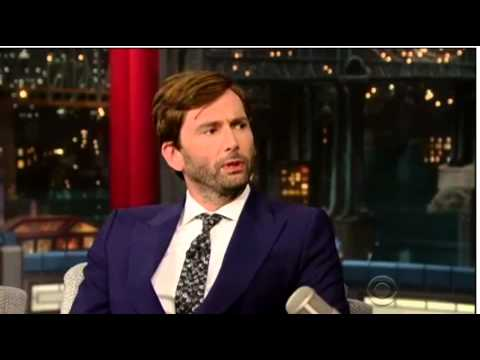 David Tennant On US Chat Show Late Show With David Letterman