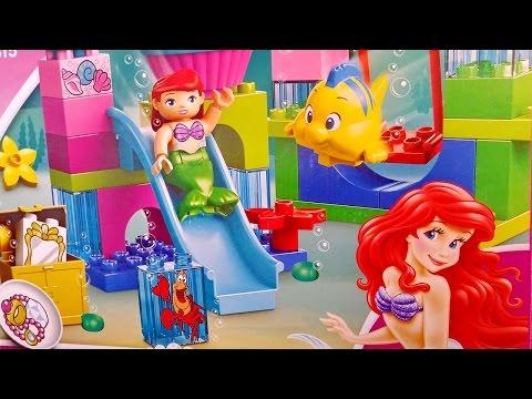 Vidéo LEGO Duplo 10515 : Le château de La Petite Sirène