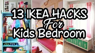 💗 13 Fun IKEA Hacks For Your Kids Bedroom 💗 Home Decor Ideas