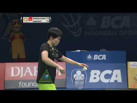 Final Ganda Campuran Indonesia Open Final 2017   Tontowi Ahmad Liliyana Natsir Vs Zheng Siwei