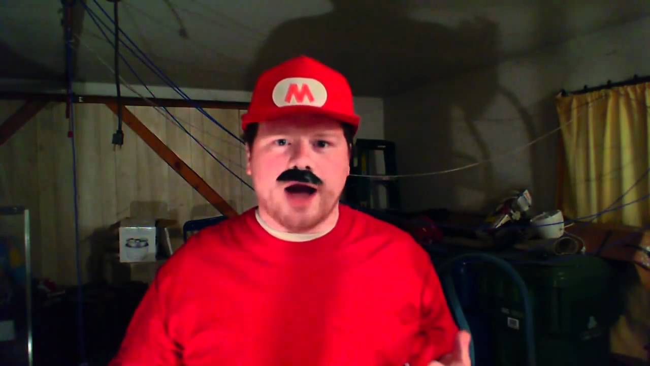 Mario Wants You To Hit Him As Hard As You Can