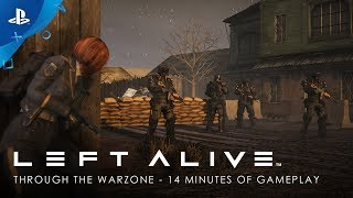 Left Alive - Through the Warzone: 14 Minutes of Gameplay   PS4