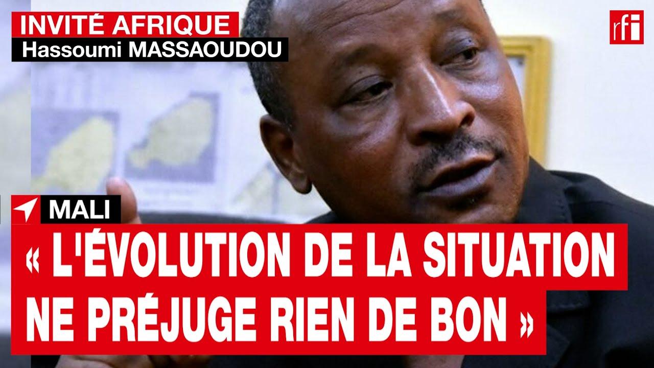 Mali : « l'évolution de la situation ne préjuge rien de bon » souligne Hassoumi Massaoudou • RFI
