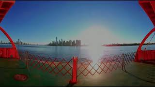 360º VR NYC - Staten Island Ferry Ride!