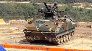 2014-10-03 20기보사 비호 & K263(자주발칸) 사격