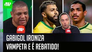 'Ô, Gabigol, o Vampeta é…': Repórter desabafa após ironia do atacante do Flamengo