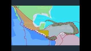 Plate Tectonics and the Evolution of Central America and the Caribbean - Video Youtube