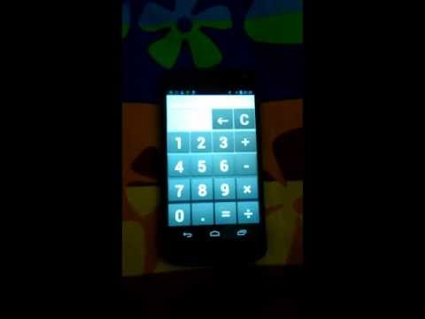 Video of Calculator