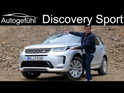 New Land Rover Discovery Sport R-Dynamic FULL REVIEW 2020 all-new or Facelift?  Autogefühl