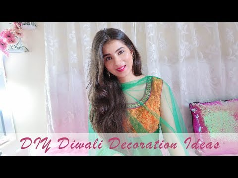DIY Diwali Decoration Ideas | Quick & Easy Decoration Ideas | DIY Home Decoration