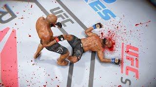 КАЗНЬ от СОЛДАТА БОГА в МИРОВОМ ТОП 10 ЙОЭЛЬ РОМЕРО UFC 3 НОКАУТ КОЛЕНОМ
