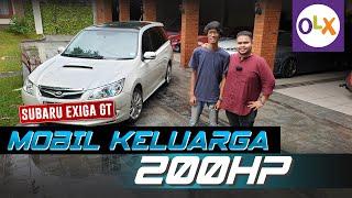 Review Subaru Exiga GT Turbo: MPV Keluarga 200 HP Lebih! | OLX Indonesia