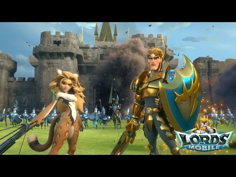 Lords Mobile Pro by IGG [Android/iOS] Gameplay (Beta Test)
