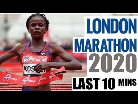 LONDON MARATHON 2020 – WOMEN'S LAST 10 MINUTES