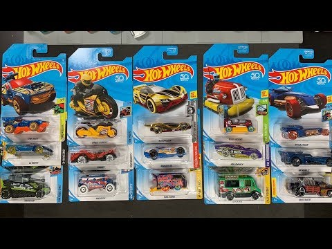 Lamley Showcase: What Was The Best Hot Wheels REGULAR Treasure Hunt In 2018?