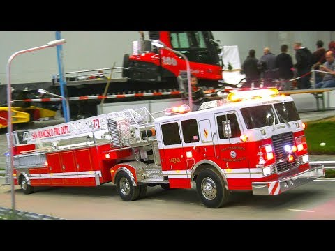 TOP OF RC FIRE TRUCKS & MORE 2016-2018 Vol.2!! RC RESCUE, RC AMBULANCE, FIREFIGHTERS!!