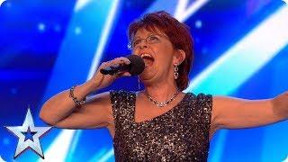 Judges, don't rain on Sue Moretta's parade! | Auditions Week 7 | Britain's Got Talent 2017