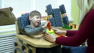 Пятилетнему Марку с диагнозом ДЦП нужны средства на курс реабилитации