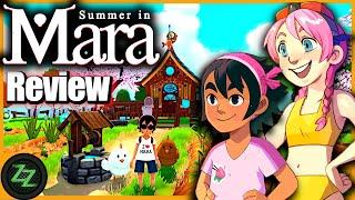 Summer In Mara Review - Test - relaxed Survival Adventure im Anime Style (Deutsch-German, subtitles)