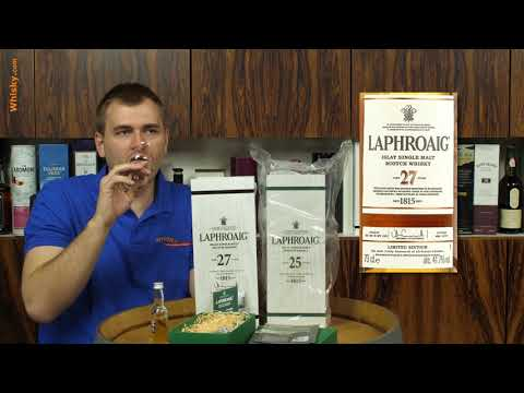 Whisky Review/Tasting: Laphroaig 27 Years