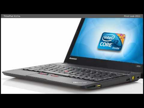 First Look: Lenovo ThinkPad X121e laptop