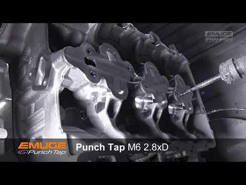 EMUGE Punch Tap - Serialproduction Audi Hungaria