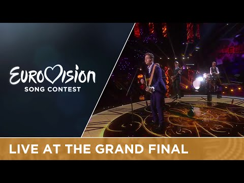 LIVE - Douwe Bob - Slow Down (The Netherlands) at the Grand Final