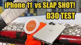 iPhone 11 Pro Max vs Slap Shot D3O Smart Foam Test - Will it break ?