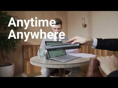HPRT – Wireless Portable Printer Anytime Anywhere-GadgetAny