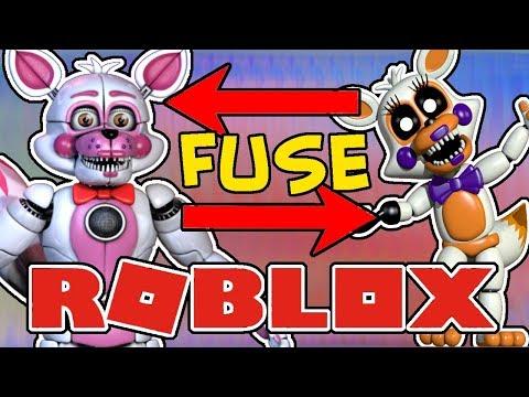 Funtime Foxy And Lolbit Fuse Roblox Animatronic World