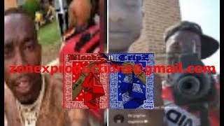 Atlanta Rapper Lotto savage & bloods pull up Fair St crips AREA WARNS they robbin crips!