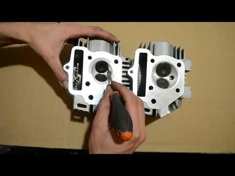 Отличия головок цилиндра Alpha 110, Delta, Active, Pitbike. Откуда берётся МОЩНОСТЬ?