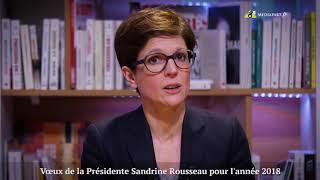 Les vœux de liberté de Sandrine Rousseau | Kholo.pk