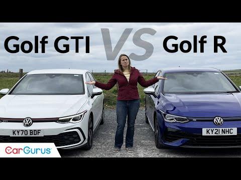 VW Golf R vs VW Golf GTI: Mk8 showdown | CarGurus UK