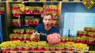 Can You Melt 30,000 Sour Punch Bites Into One?
