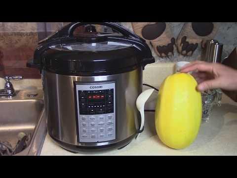 Whole Uncut Spaghetti Squash in Pressure Cooker – Cosori