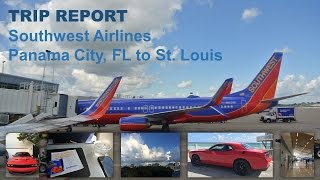 TRIP REPORT :: Southwest Airlines :: Panama City, FL (ECP) to St. Louis