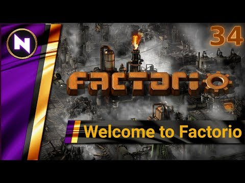 Welcome to Factorio 0.17 #34 IRON DEMAND AND SUPPLY