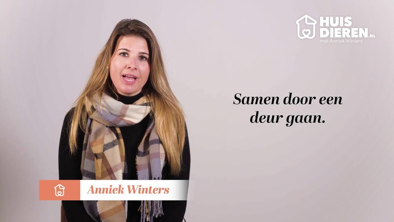 Huisdieren.nl en Anniek Winters |Op de juiste manier naar buiten gaan.