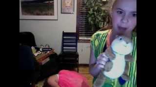 julia joan sings and attacks fat lady
