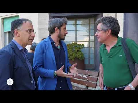 L' ATTORE PAOLO RUFINI AL GASLINI DI GENOVA