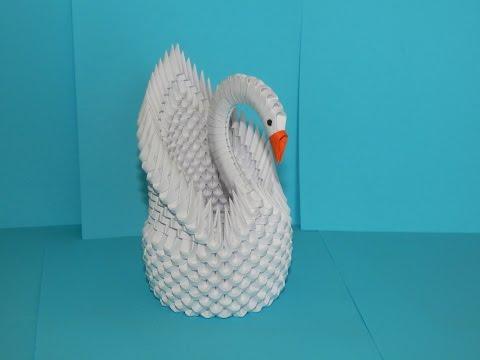 Download 3d Origami Swan Tutorial Part1 Tutorial Lebada 3d Origami