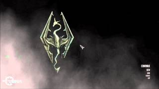 Skyrim PC Mods - The Dragonborn Comes Start Screen by Malakah