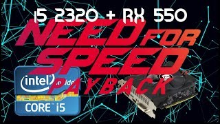 Need for Speed: Payback - 768p - Core I5 2320+RX 550 2Gb (Gameplays Low Specs) PT-BR