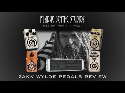 5 Zakk Wylde Pedals Reviewed – Wah, Overdrives, Chorus, and Phaser!