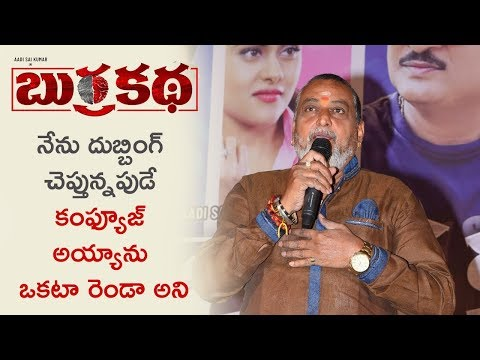 Prudviraj About The Movie Burrakatha at Pre Release Event
