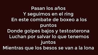 Besos A La Lona   Melendi [ LETRA LYRICS ]