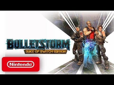 Bulletstorm - Launch Trailer - Nintendo Switch thumbnail